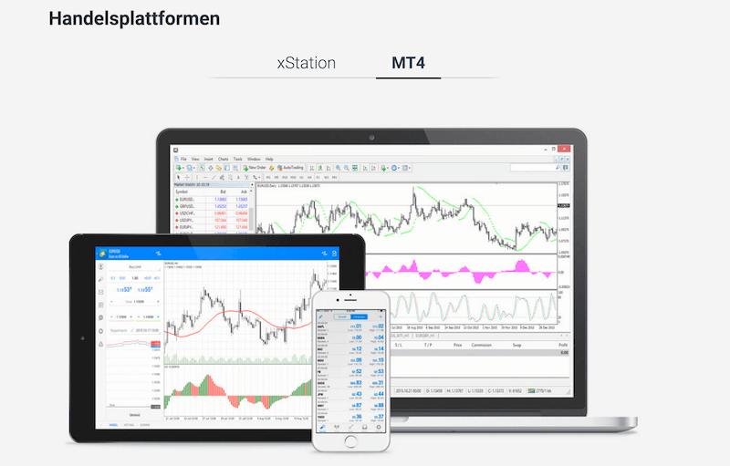 XTB Handelsplattform