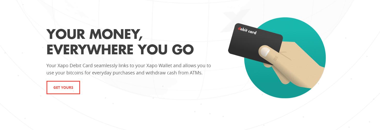 xapo bitcoin kreditkarte