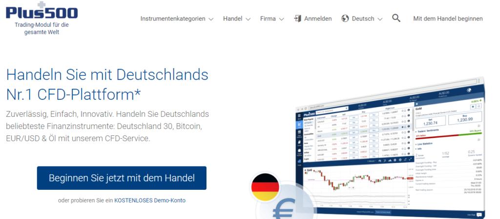 Auch CFD Broker wie Plus500 stellen eigene Bitcoin Kurse als Market Maker.
