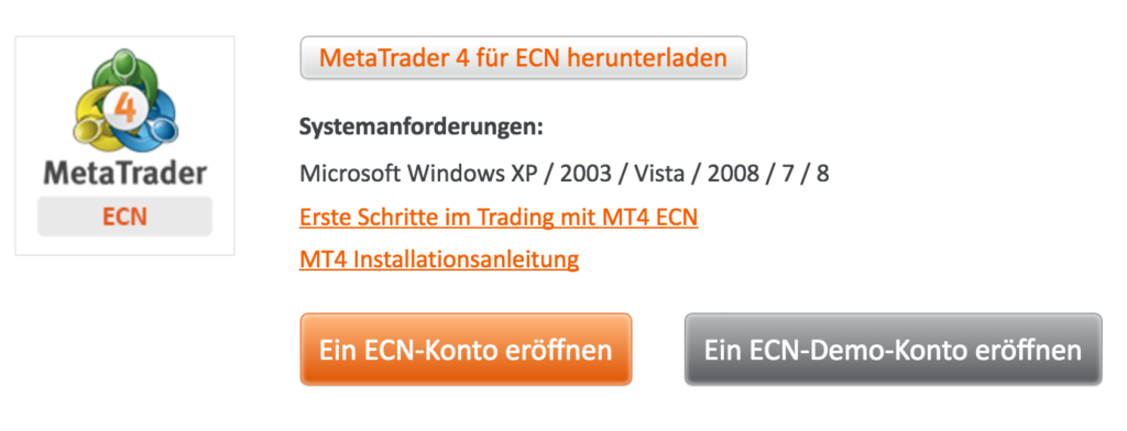 MetaTrader 4 App