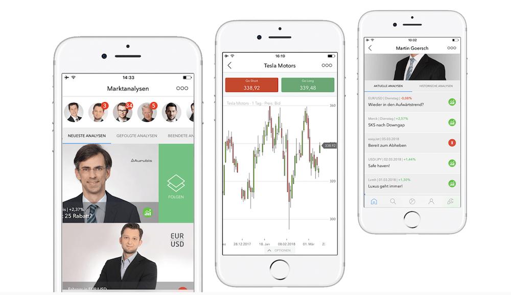 nextmarkets App mobiler Handel